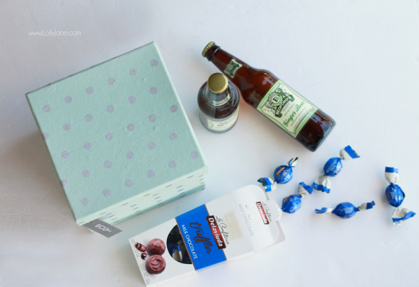 NEW YEARS: Party in a box, great neighbor gift idea!
