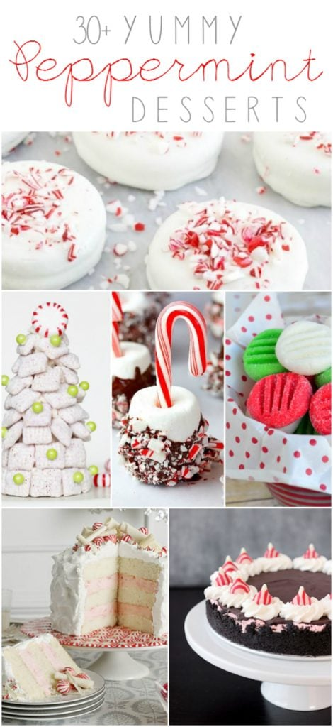 30+ easy and yummy peppermint desserts