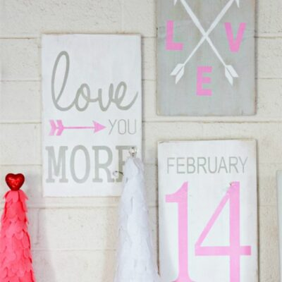 Cute Valentines Day signs