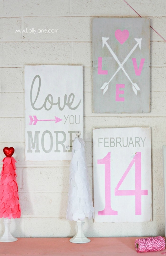 Coolest Hand Painted Signs Ideas | Happy Home Decor | Easy ... |Valentine Hand Painted Wood Signs