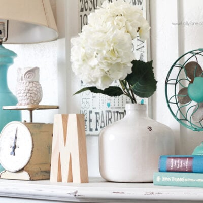 Tips + tricks for decorating with baskets