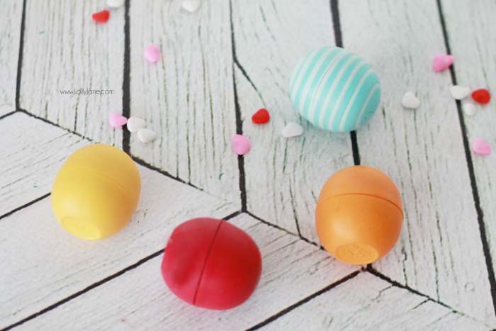 Love our colorful EOS collection! They make cute love bug Valentine's too! Click through for pics!