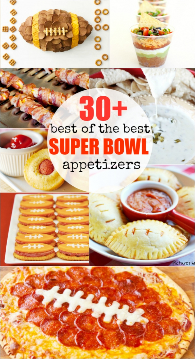 30+ Best of the BEST Superbowl appetizers!!