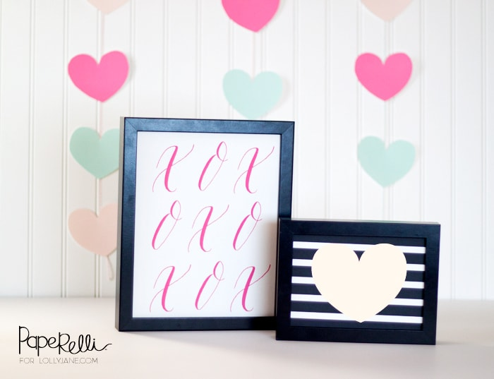 Valentine's Day decor |free printables