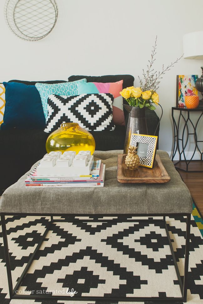 Living Room Makeover |Colour Saturated Life