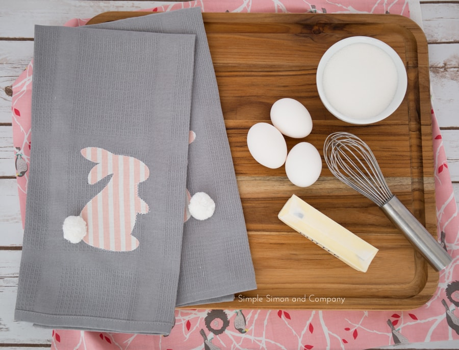 DIY Spring Kitchen Linens