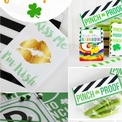 30+ St Patricks Day free printables
