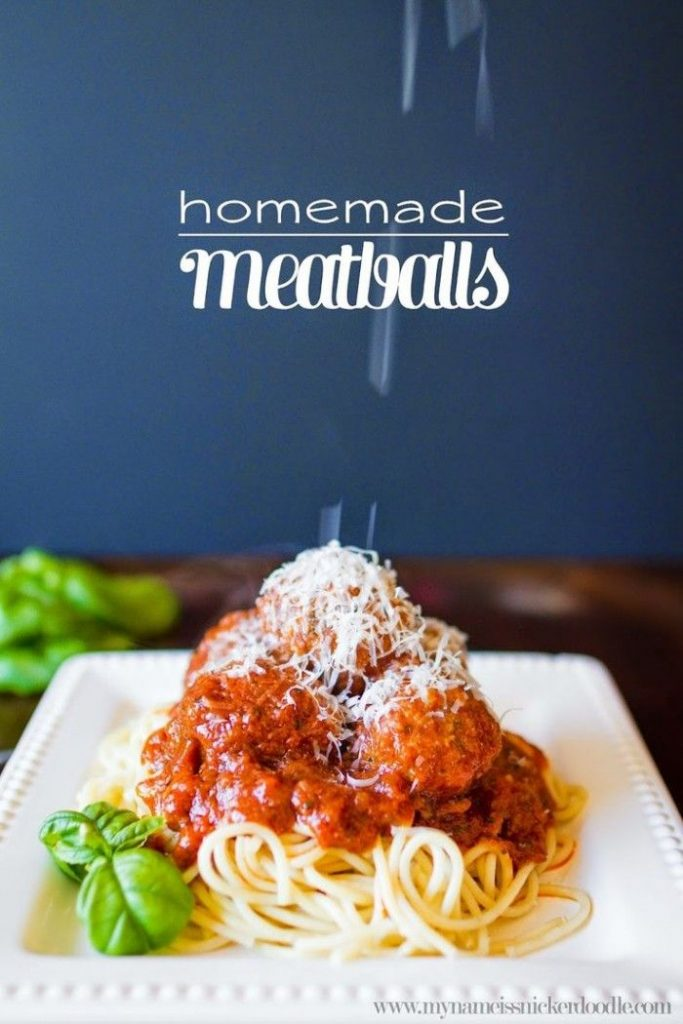 Homemade Meatballs, the quality of going out to eat without the cost ...