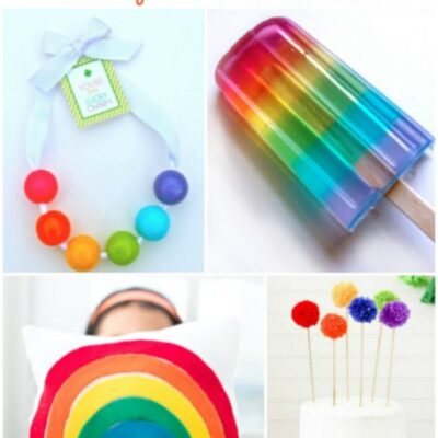 Rainbow Craft and Treat ideas