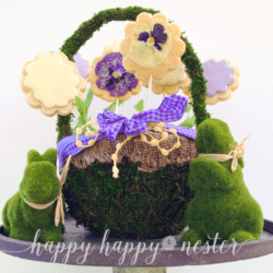 How to make a spring cookie bouquet
