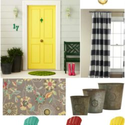 colorful porch ideas