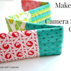 DIY Camera Strap Cover