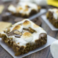 Recipe for these Peanut Butter S'mores Cookie Bars look AMAZING!!!