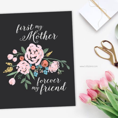 Free Mothers Day Printable Art