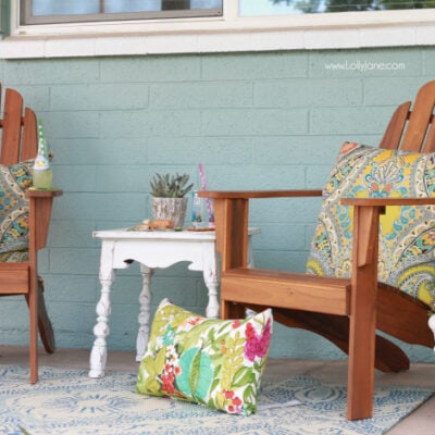colorful front porch ideas
