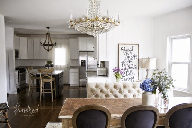 In love with this goregous, neutral dining room!