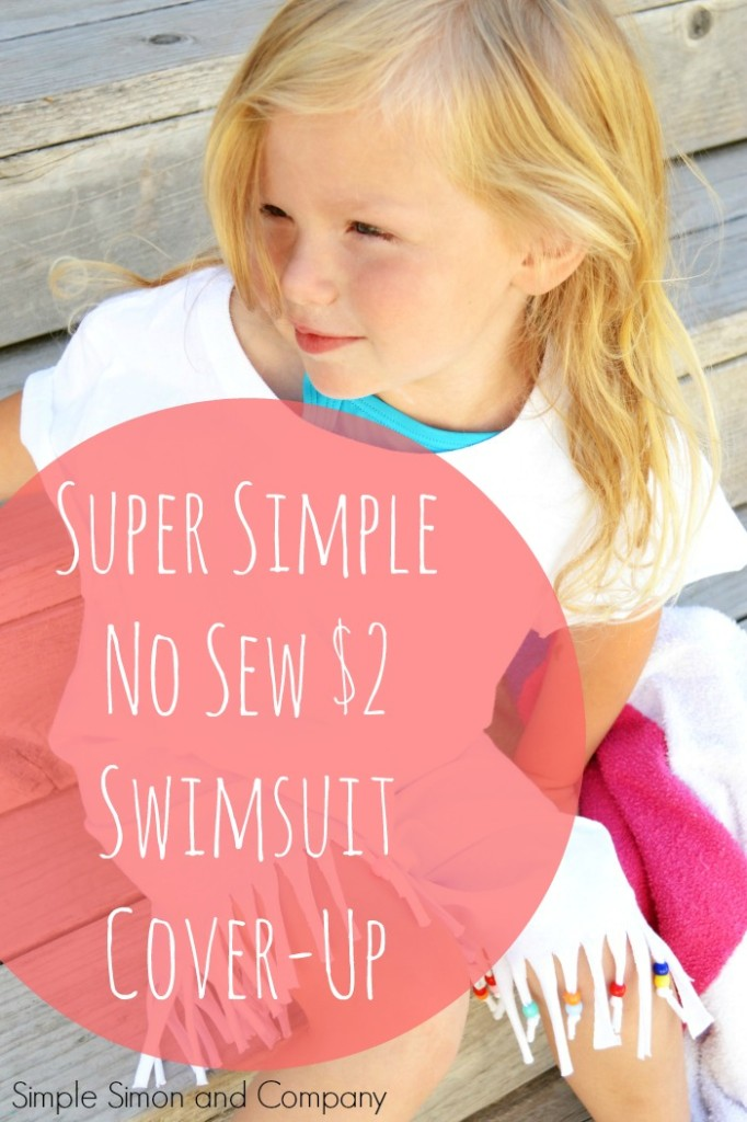 no sew swimsuit cover up from a tee shirt