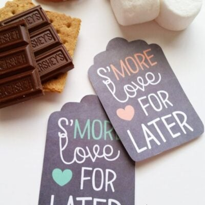 S'more Printable Gift Tags