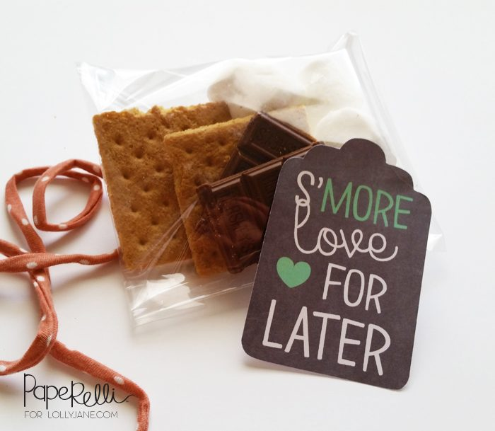 S'more Printable Gift Tags |via Paperelli