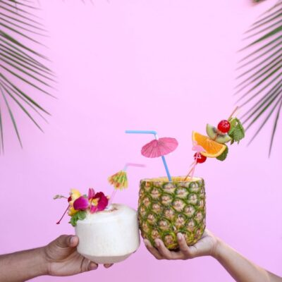 luau party ideas with evite + dole