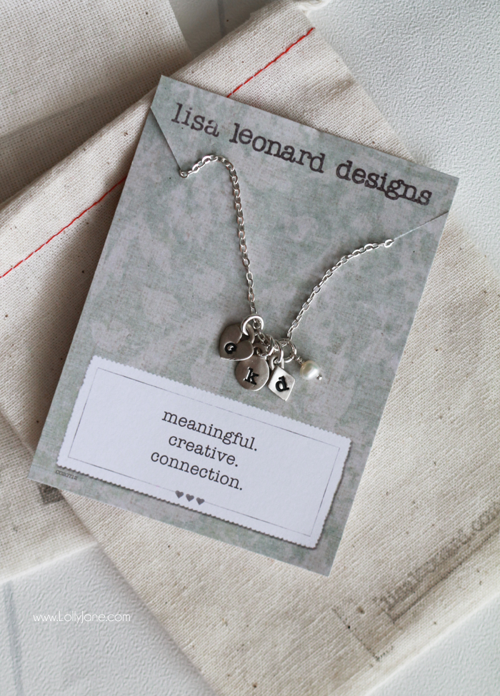 Lisa Leonard Necklace Giveaway! Yay!