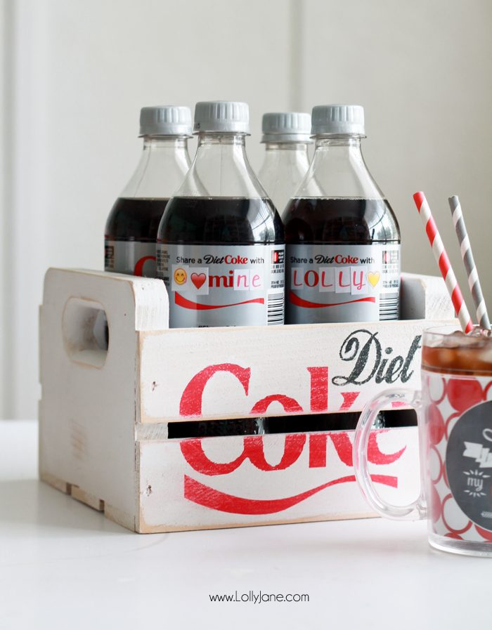 This is a picture of Refreshing Diet Coke Bottle Label