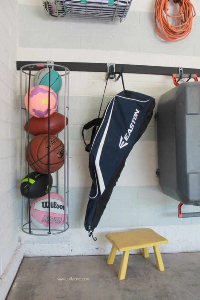 Easy Garage Organizational Tutorial + Tips!