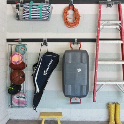 easy garage organization
