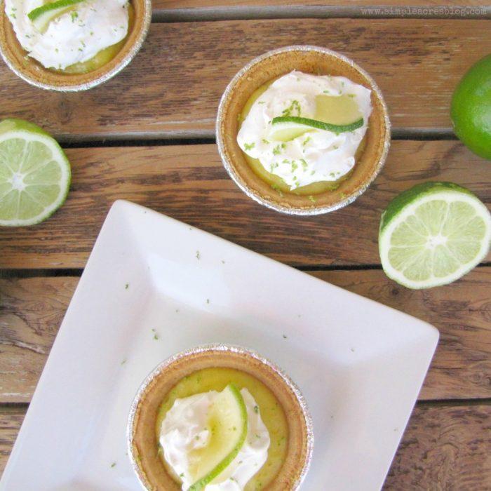 Mini key lime pie recipe, yum!