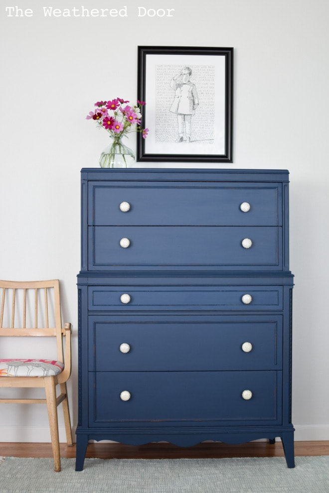 Stacked Dresser Makeover