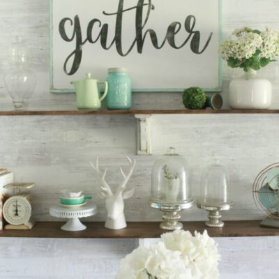 How to Make a Gather Wood Sign | Tutorial