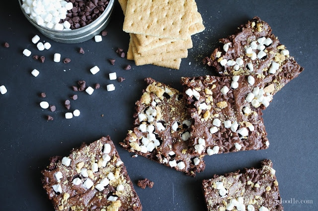 S'more Brownie Brittle
