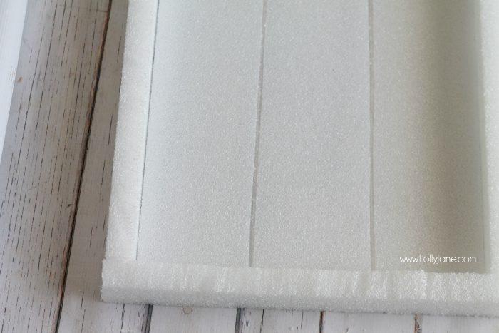 Make this fun summer sign using foam! Easy DIY craft project, hello sunshine! Cute summer decor idea!