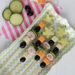 kids snack veggie skewers