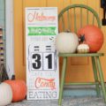 DIY Halloween Countdown Board with FREE printable numbers!
