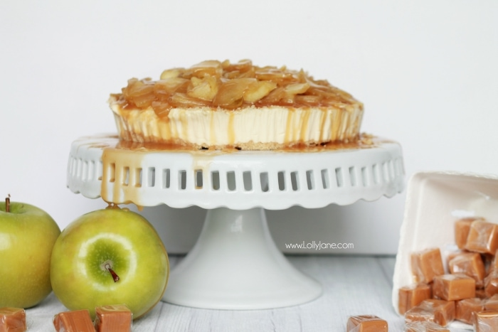 caramel apple cheesecake topping recipe