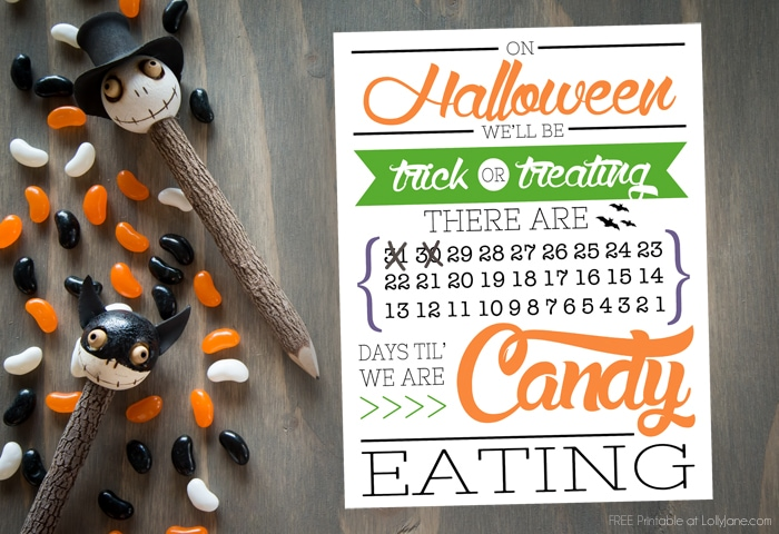FREE Printable Halloween Countdown! srcset=