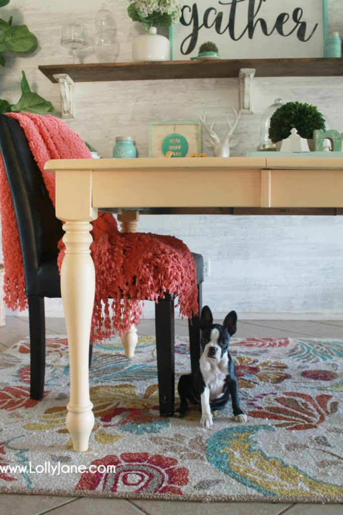 colorful-farmhouse-dining-room-table