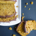 Pumpkin Bread with Fudge Frosting |via mynameissnickerdoodle.com