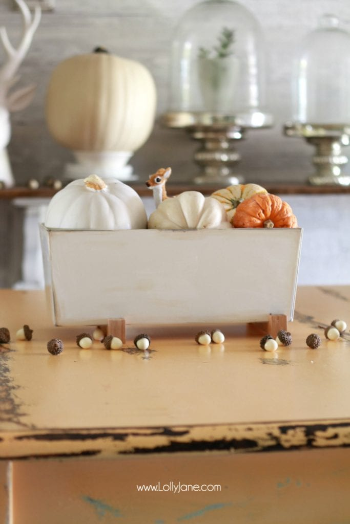Simple Fall Tablescape