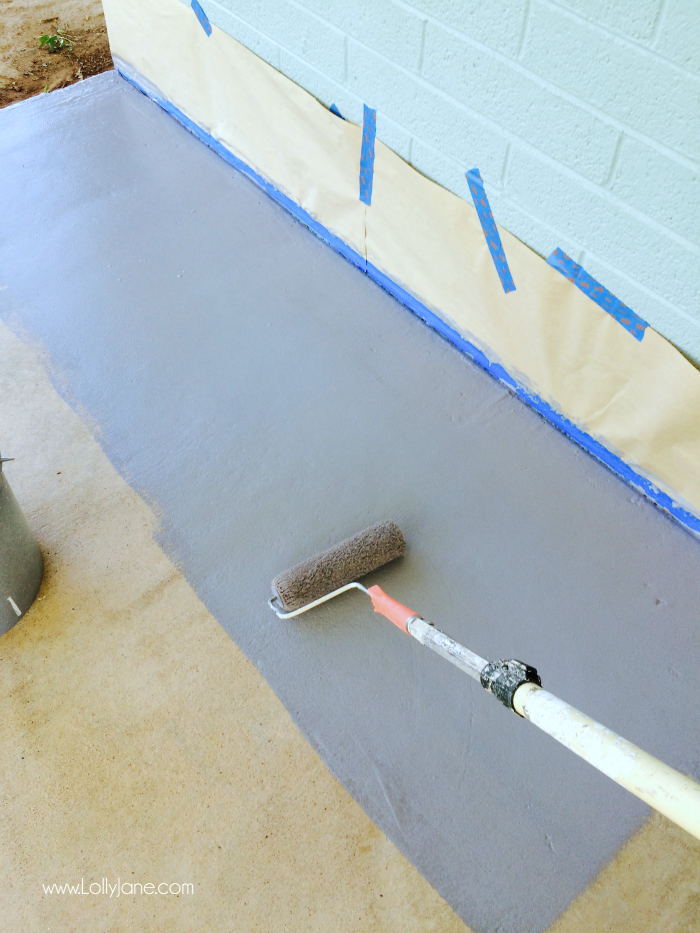 How To Paint Concrete Floors: Use A Concrete Paint Porch And Floor Paint  For Secure