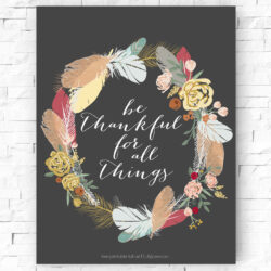 Free printable fall art