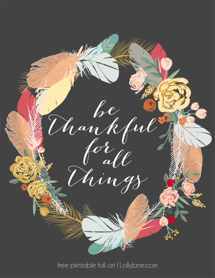 image about Thankful Printable identified as Be Grateful Printable