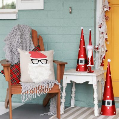 Holiday porch decorating tips