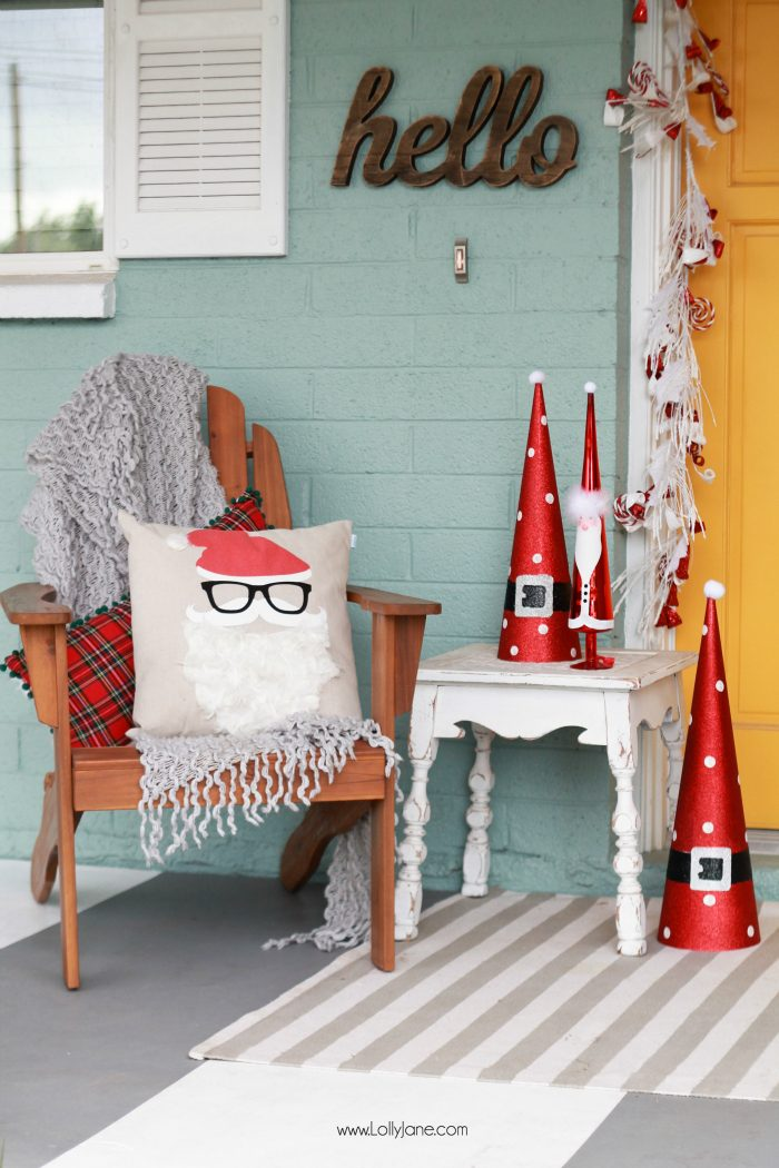 How to Decorate your Porch for the Holidays!