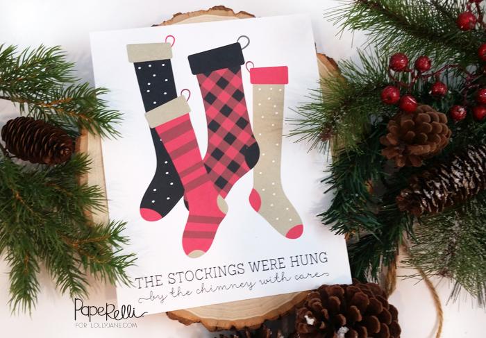 FREE Christmas Art Print   via Paperelli