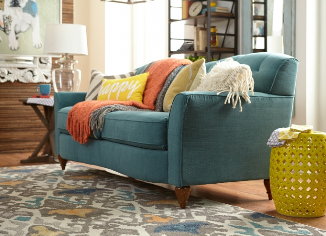 Gorgeous Melina La-Z-Boy premier sofa! Click link to ENTER TO WIN $10,000 of La-Z-Boy products!!!