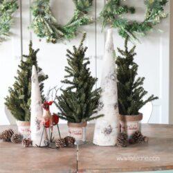 Easy Christmas tablescape ideas