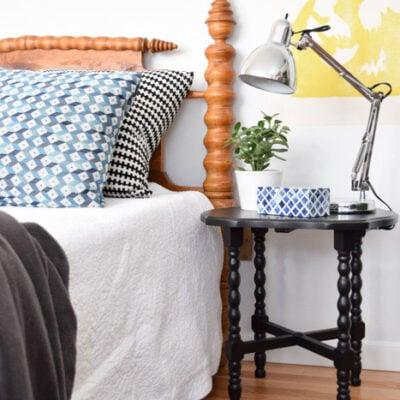 side table furniture makeover