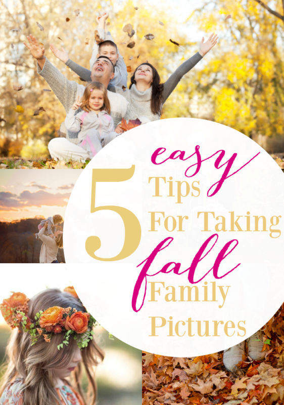 5 Easy Tips for Taking Fall Fam Pics, don't make it harder than it has to be!